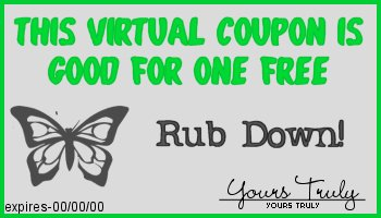 rub down coupon