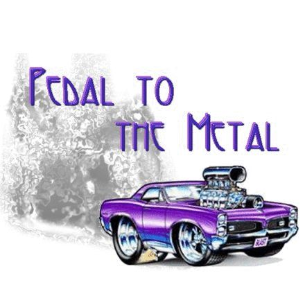 pedal to the metal
