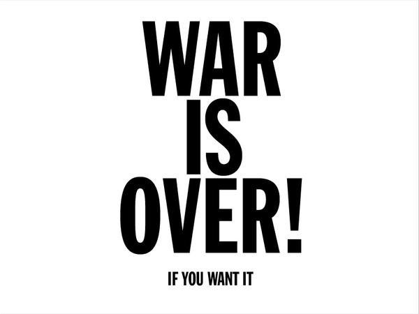 war is over if you want it