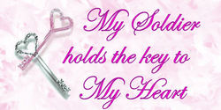 my soldier holds the key to my heart