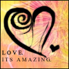 love is amazing icon