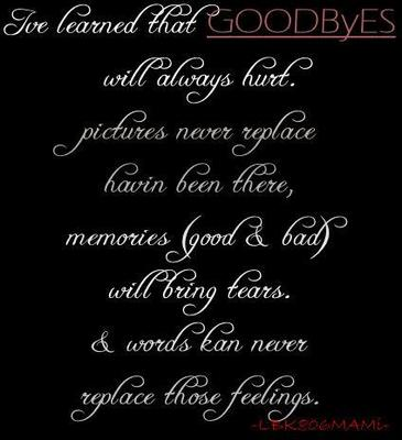 goodbyes quotes