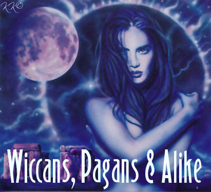 wiccans pagans and alike
