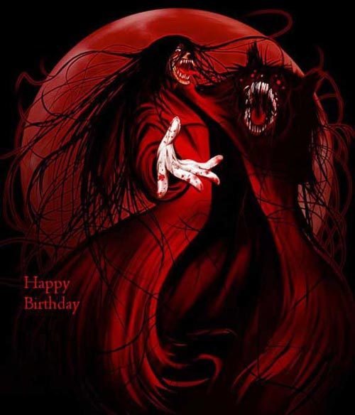 happy birthday demon