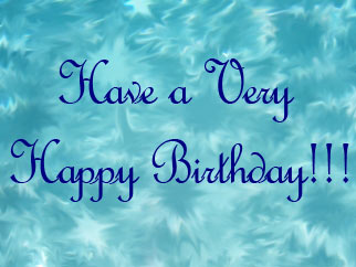 have a very happy birthday