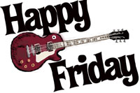 happy friday guitar