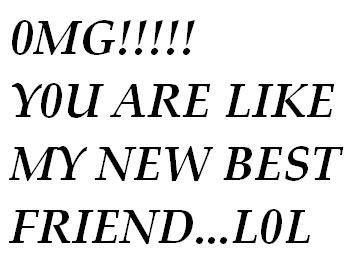 omg you are like my new best friend lol