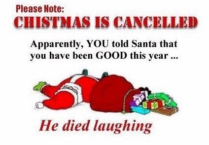 christmas is canceled