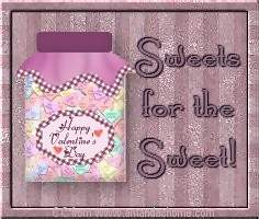 sweets for the sweet happy valentines day