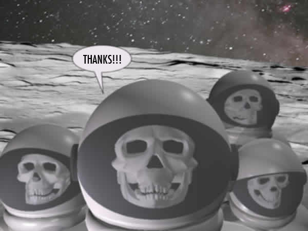 thanks skeleton spacemen
