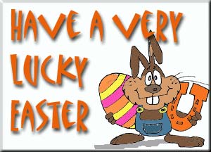 have a very lucky easter