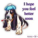 i hope you feel better soon