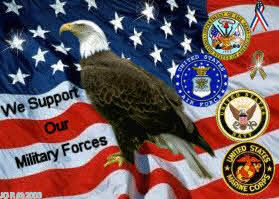 we support our military forces