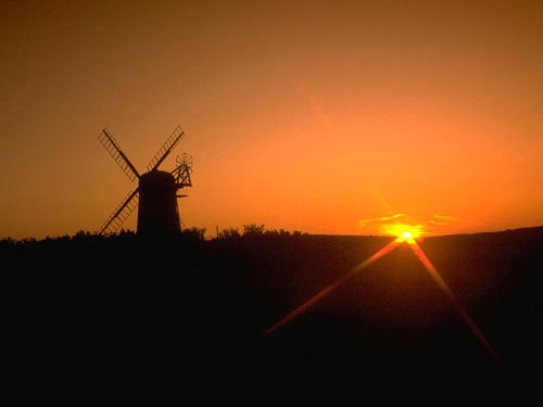 Windmill_Sunrise