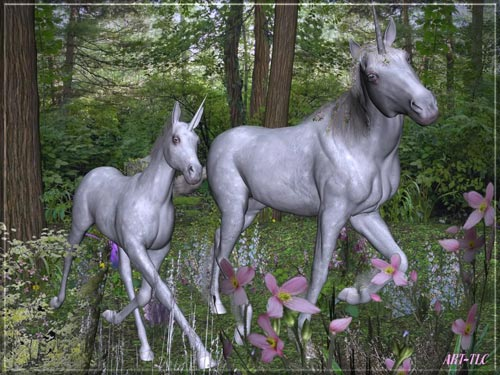 unicorn family