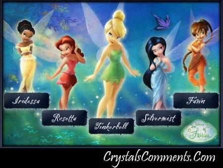 Tinkerbell faires