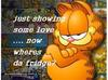 just showing some love garfield
