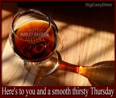 thirsty thursday harley davidson