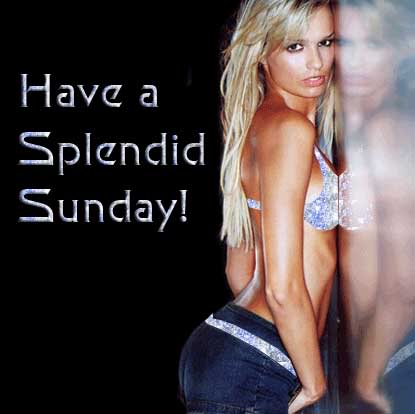 have a splendid sunday