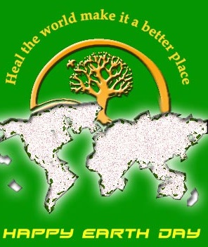 heal the world make it a btter place happy 