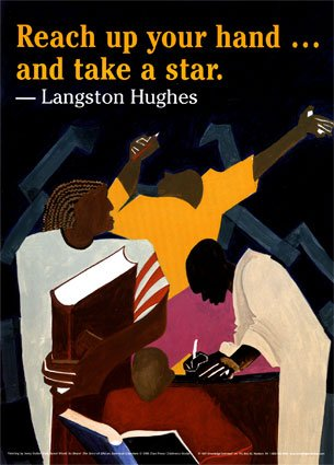 reach up your hand and take a star langston hughes