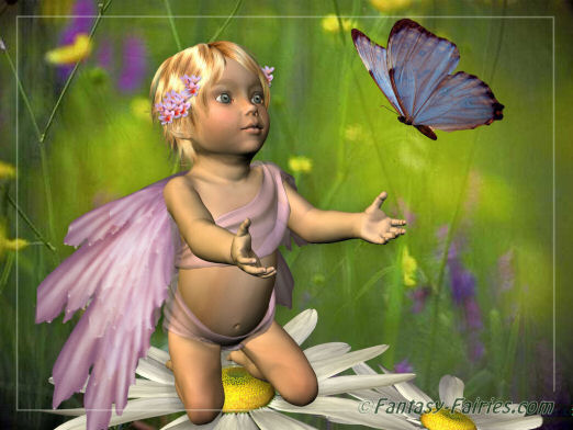 young girl fairy
