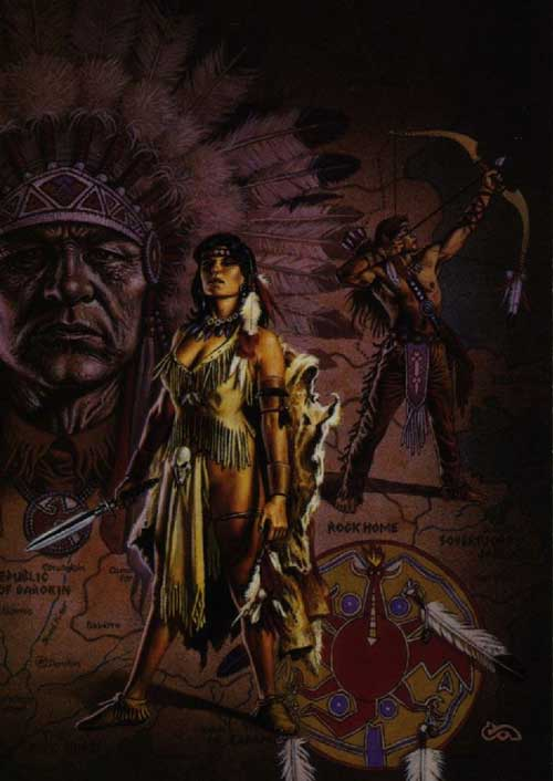 Native American Fantasy Art Facebook Comments And Graphics