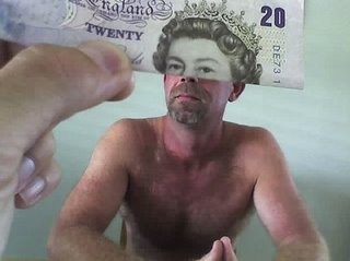 half man's head is queen on dollar