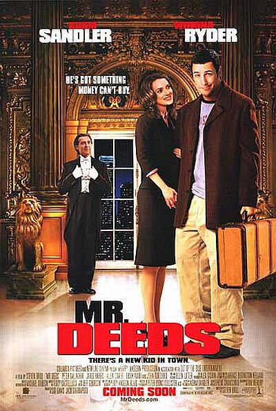 adam sandler - wyonna ryder - mr deeds