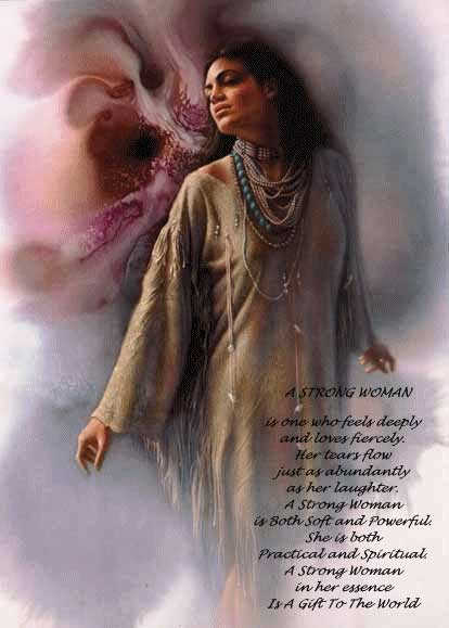 native american poem a strong woman