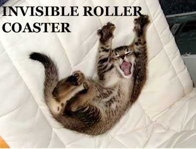 invisible roller coaster