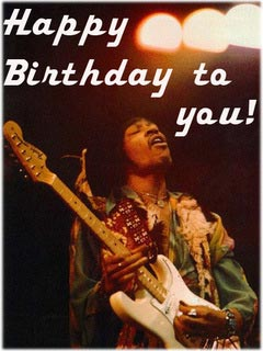 Happy Birthday To You Jimi Hendrix Facebook Comments And