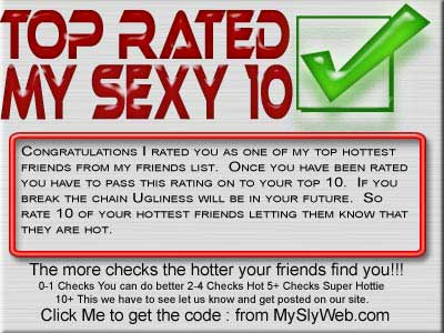 top rated my sexy top 10