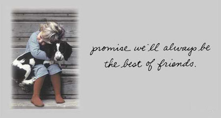 promise we'll always be the best of friends