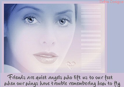 friends are quiet angels who lift us to our feet