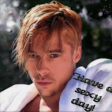 have a sexy day brad pitt