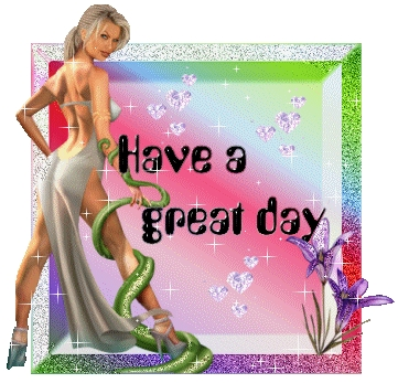 have a great day sexy woman