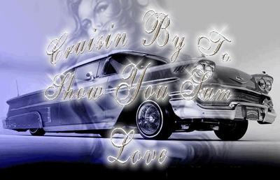 cruisin by to show you sum love