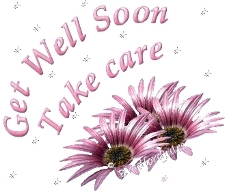 get well soon take care