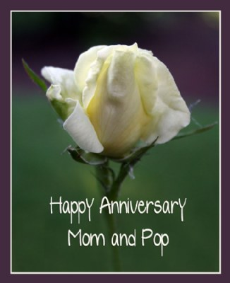 happy anniversary mom and pop