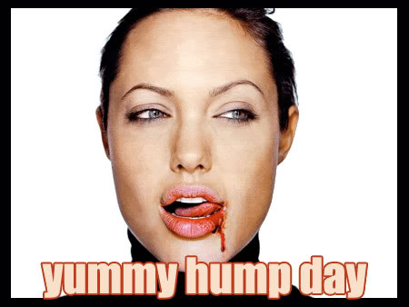 yummy hump day