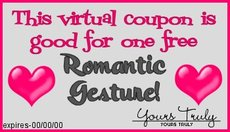 romantic gesture coupon
