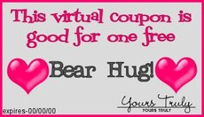 bear hug coupon