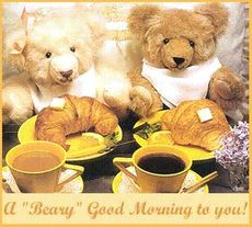 a beary good morning to you