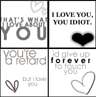 thats what i love about you idiot retard