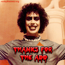 thanks for the add rocky horror picture show
