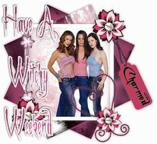 have a witchy weekend charmed